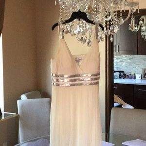 Nina Austin white dress like new size L/XL
